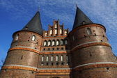 Town's Landmark Luebeck — Stock Photo