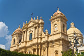 World Cultural Heritage Noto — Stock Photo