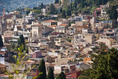 The roofs of Taormina — Stock Photo