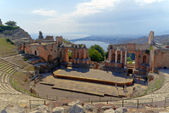 Teatro Greco Taormina — Stock Photo