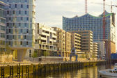 Harbour City of Hamburg — Stock Photo