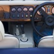 Stock Photo: Vintage Car Cockpit