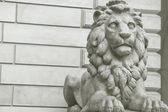 Estátua do leão — Fotografia Stock