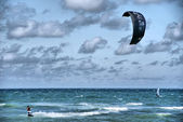 Kitesurfer — Stock Photo