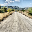 Stock Photo: Sicilicountry road
