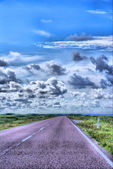 On the road — Stock Photo