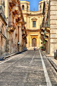 The streets of Sicily — Stock Photo