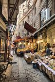 Market alleyway — Stock Photo