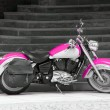 Motorbike in pink — Stock Photo #28489863