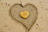 Heart on Heart — Stock Photo