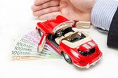 Car finance — Stockfoto