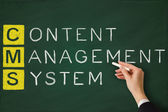 Content management system — Foto de Stock