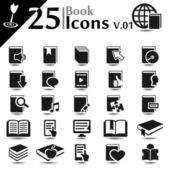 Book Icons v.01 — Stock Vector