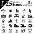 Stock Vector: Holiday Icons v.01