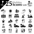 Holiday Icons v.01 — Stock Vector #22270487