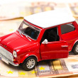 Rent a car — Stockfoto