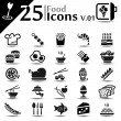 Food Icons v.01 - Stock Vector