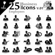 Business Icons v.01 — Stock Vector