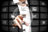 Infographic services — Stock Photo