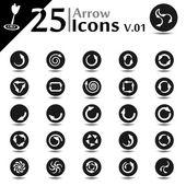 Arrow Icons v.01 — Stock Vector