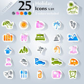 Holiday Icons v.01 — Vettoriale Stock