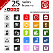 Safety Icons v.01 — Stock Vector #24316271