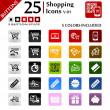 Shopping Icons v.01 — Stock Vector #24316281