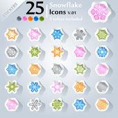 Christmas Icons v.01 — Stock Vector
