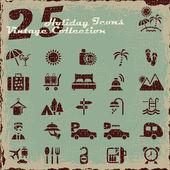 Holiday Icons v.01 — Stock Vector