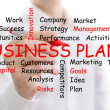 Business plan — Stock Photo #25369135