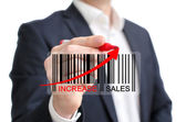 Increase sales — Stock Photo