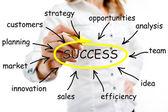Erfolg — Stockfoto