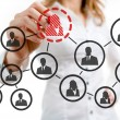 Stock Photo: Organizational chart