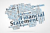 Financial Statement — Stock Vector