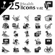 Health Icons v.02 — Stock Vector