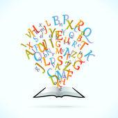 Education Book — Stock Vector
