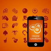 Gambling — Stock Vector
