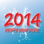 Creative happy new year 2014 design. — Stock Vector #37270629