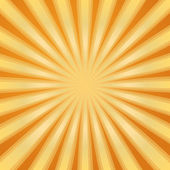 Sunburst Pattern. Radial background — Stock Vector