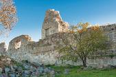 Krim, Oekraïne, de ruïnes van de oude stad — Stockfoto
