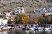 Ukraine, the Crimean Peninsula, Bay of Balaclava — Stock Photo