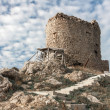 The ruins of an ancient fortress in Balaklava — Stock Photo