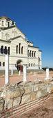 Ukraine, Crimea, the ruins of the ancient city of in Chersonese — Stockfoto