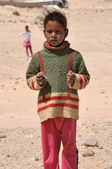 Egypt, the children of the desert — Stock Photo