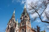 Church of St. Elzbieta in Lviv, Ukraine — Stock Photo