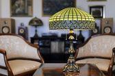 Tiffany lamp — Stock Photo