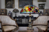 Tiffany lamp — Stockfoto