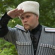 Young min cossack clothes — Stock Photo #28338661