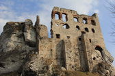 Ogrodzieniec castle ruins poland — Stock Photo