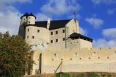 Bobolice castle ruins poland. — Stock Photo